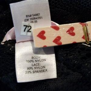 Victoria's Secret Intimates & Sleepwear - {VS} black lace mini dress (S)